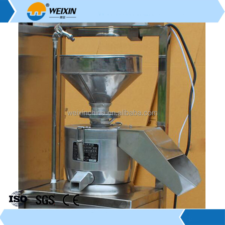 Good quality electric gas industrial soy milk colorful tofu processing production machine