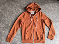 Readymade garments stock lot men long sleeve hooded jacket