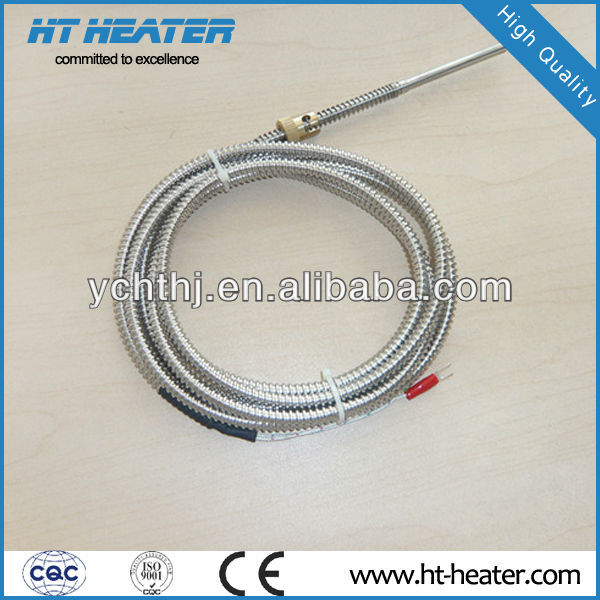 Hongtai Customized Desigin with 1 Year Quality Assurance J Type Bayonet Spring Thermocouple