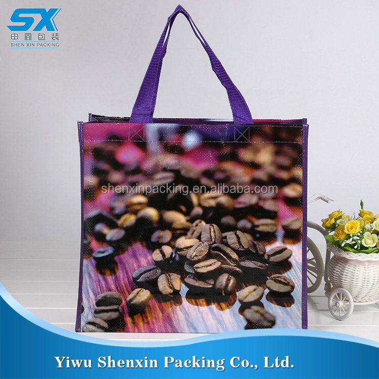 New product grocery tote shopping bag pp woven bag