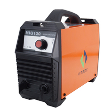 IGBT DC inverter CO2 gasless shielded MIG welding machine MIG-120 small current, cheap price