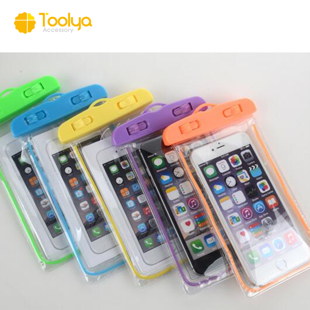 Hot sale new material fashion clear PVC mobile phone waterproof case