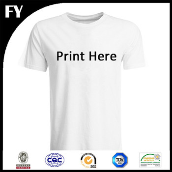 Small MOQ Factory Direct Custom T Shirt Printing Unisex