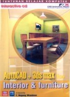 AUTOCAD + 3D MAX FOR INTERIOR & FURNITURE software