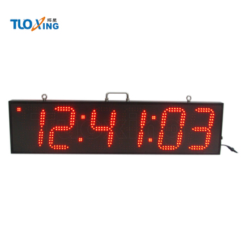8 inch 6 digits led sports timing digital sports stopwatch sports timer