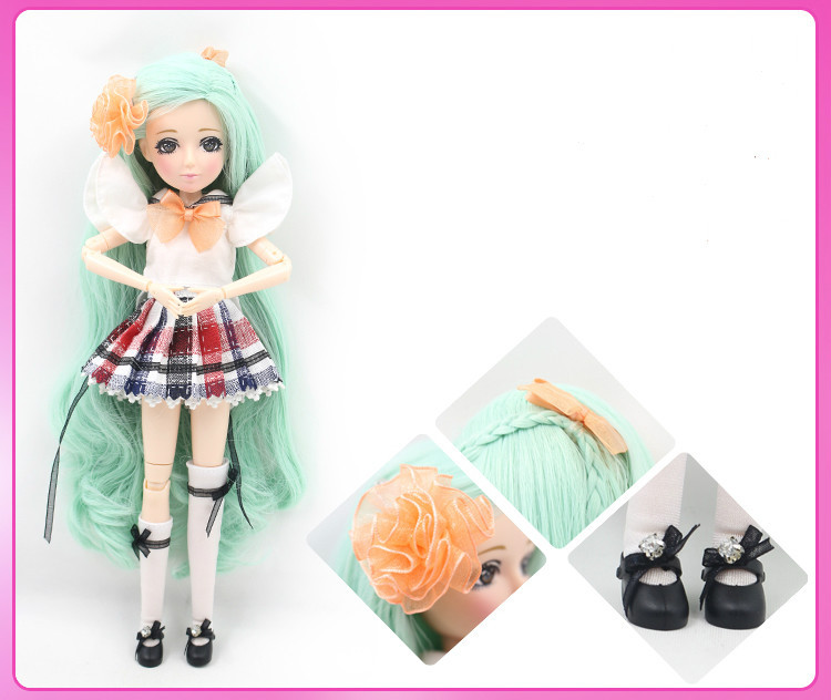 MM girl ,Move joint body ,bjd sd doll