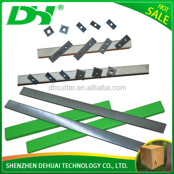 2015 high accuracy high heat resisting power tool carbide planer blade for raw material