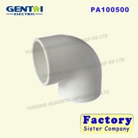 Manufacturer GOOD QUALITY PVC WATER SUPPLY 90 DEG ELBOW PVC PIPE FITTINGS PLASTIC PIPE FITTINGS