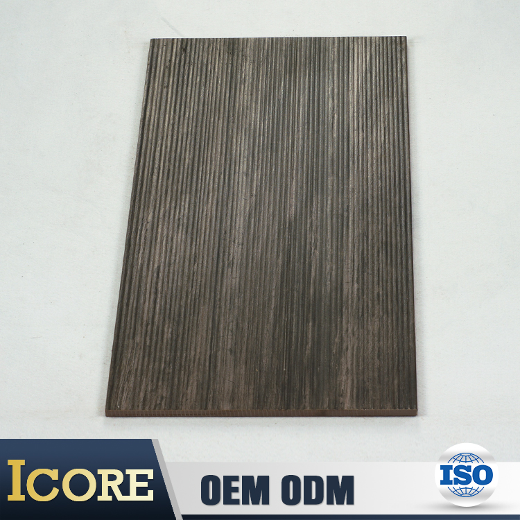 China Imports Matt Finish Texture Color 60 X 60Cm Black Wood Grain Tiles