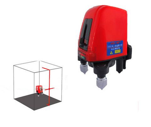 AK435 360degree self- leveling Cross Laser Level 1V1H Red 2 line 1 point vertical horizontal lasers