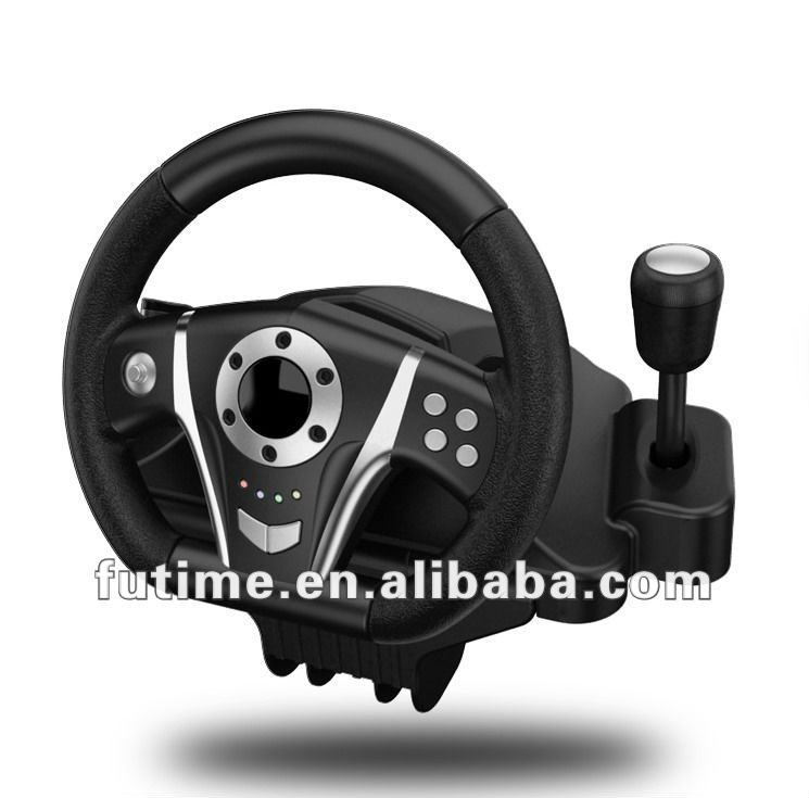 For PS2/PS3/PC/X-INPUT 4IN1 wireless steering wheel