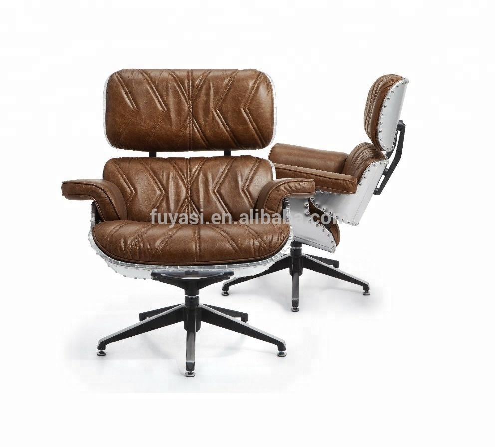 aluminum back classic leisure swivel <strong>chair</strong>