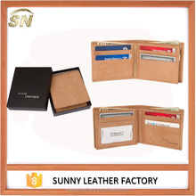 Manufacturer Casual Genuine Leather Men's Wallets
