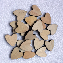 Whole sale cheap price factory die wedding decoration heart design cut wood shapes