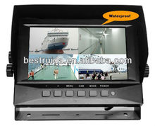 7 inch digital waterproof vehicle monitor / car display for all vehicles