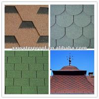 Factory price 3-tab asphalt roofing shingle for flat roof