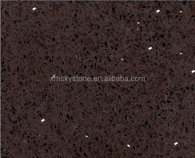 SKY-Q13 Kitchen Black Labrador Granite Sparkle Galaxy Quartz Stone Countertop
