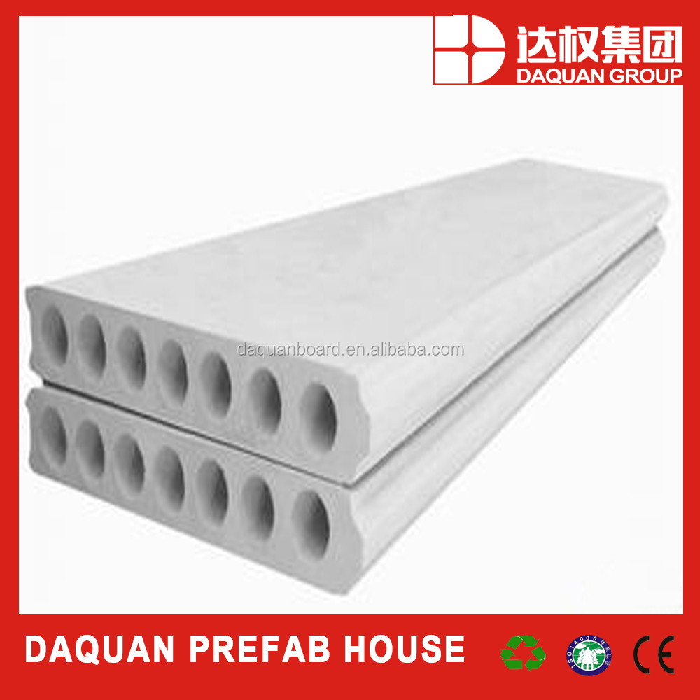 EPS cement hollow wall board low cost and affordable building material