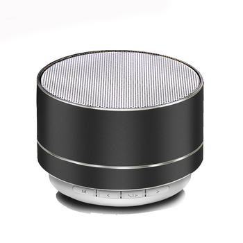 Factory Price Subwoofer Portable Mini Wireless Bluetooths Speaker with Led Lamp