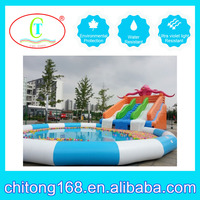 Chinese New Design Inflatable Slide Tube