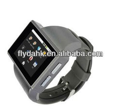 Latest wrist watch mobile phone z1 smart android 2.2 watch phone