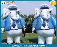 HOT!!! HOT!!! Customized Inflatable advertising elephant Cartoons/ inflatable walking moving cartoon for sale