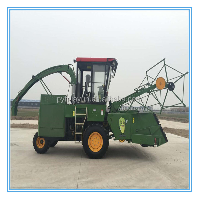 efficient and powerful harvester combine/ silage chopper