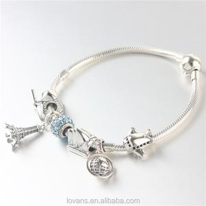 New Arrival Bracelet With Silver Charms Bali Jewelry Manufacturers