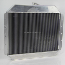 Performance Alloy Radiator For FORD Truck F100 F250 F350 Chevy V8 Manual Transmission