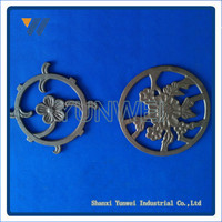 Customized Popular Design Cast Iron Gate Models For Garden Decoration