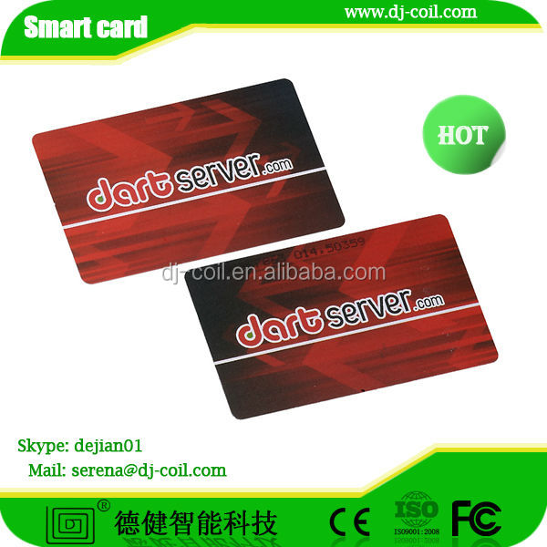 ISO14443A 125KHZ t5577 rfid card used for e-payment,access control