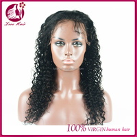 Wholesale unprocessed black people wigs natural human hair wig chinese virgin hair