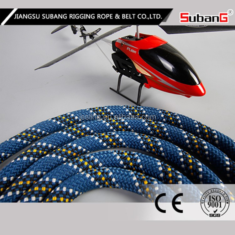 nylon flat pull rope, truck tow rope, vehicle recovery rope
