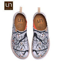 European trendy shoes brand UIN Pomegranate Spring colorful dubai custom wholesale shoes