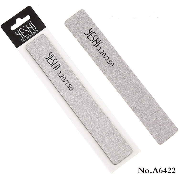 A6422 UV Gel Nail Art Manicure Tools Sandpaper Pedicure Sanding Nail File