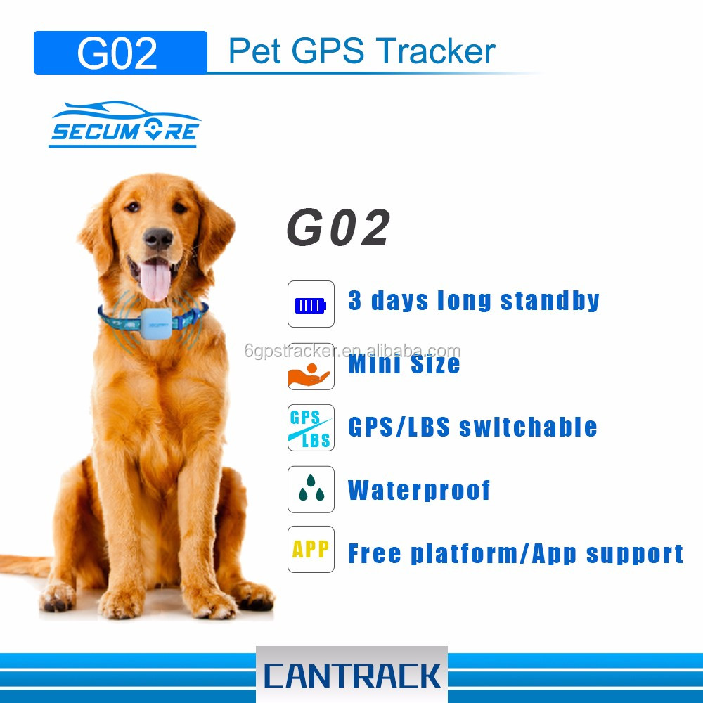 CE & RoHS GPS pets Tracking System dog GPS Tracker pets Tracking Device with waterproof IP 65 silicon rubber case