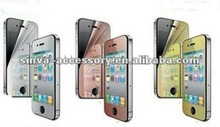 Different Color MIrror Screen Protector for iphone 4 iphone5