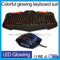 Adjustable backlit keyboard mouse gaming combo