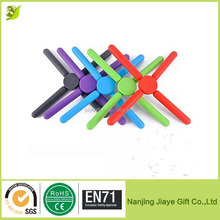 Kitchen Utility Silicone Rubber Folding Trivet