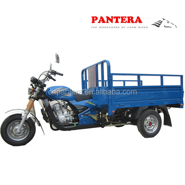 PT200ZH-10 Cheap Three Wheel 250cc Water Cooled Motorcycle For Angola