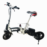 250W 36V Lithium Battery Foldable Electric Bike with Brushless Engine