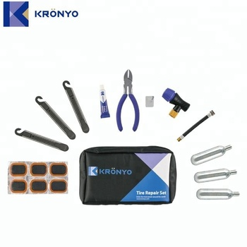 Repair tool kit have Cold Patch for bikes carry bag