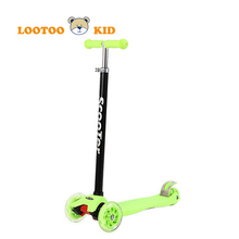 Alibaba trade assurance china factory hot sale adjustable height three wheel kick scooter kids
