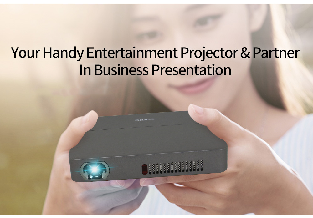 built in battery wifi Android bluetooth USB3.0 DLP portable pocket mini projector