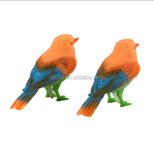 Custom Making Plastic Sound Voice Control action figure/Singing Birds Children's Toy action figure OEM supplier