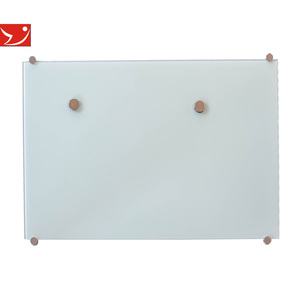 Jiangsu supplier Glass white board with customized size and colors glass dry erase board