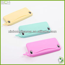 cute silicon case for iphone 5, high quality silicon case for iphone 5