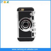 Portable case,Creative 3D Camera Design Combo Hard Shell Mobile Phone Case for iphone 6