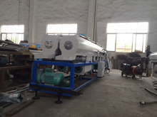 pe pipe manufacturing line