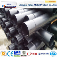 Plastic coating seamless steel pipe for coal mine